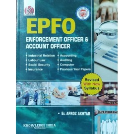Ki Publication -EPFO/Enforcement officer & account officer (English,Paperback) By Afroz Akhtar