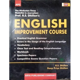 AGP Publication [English Improvement Course (English), Paperback] by Prof. R. S. Dhillon,  Deep Priya Dhillon