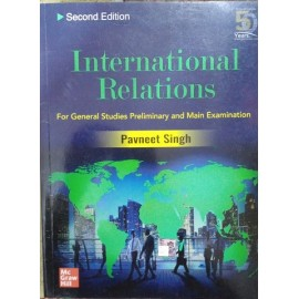 McGraw Hill Education [International Relations for Civil Services Examinations, Paperback (English)] by Pavneet Singh
