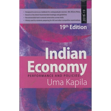 Academic Foundation [Indian Economy, Performance and Politics 19th Edition (English) Paperback] by Uma Kapila