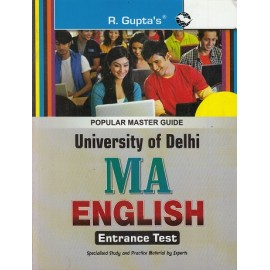 R. Gupta's Publication [DU- MA- English Entrance Examination Mcq