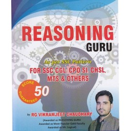 Rakesh Yadav Readers Publication [Reasoning Guru 48+ Score Guaranteed Chapterwise Question with Detailed Solutions (English) Paperback] by Vikramjeet Chaudhary