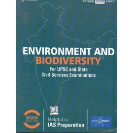 Cengage Learning's [Envirinment and biodiversity  for Civil Services Examinations (English), Paperback] by Cengage Team