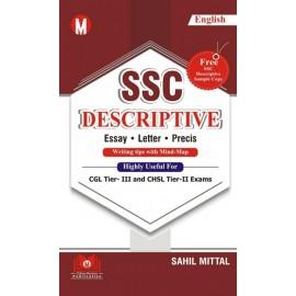 Online Mentors  Publication  - SSC Desciptive Essay-Letter -Precis (English,Paperback) by  Sahil Mittal