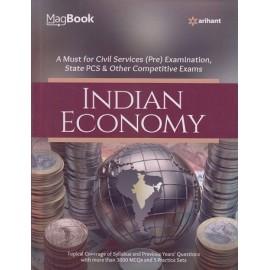Arihant Publication PVT LTD [Magbook Indian Economy (English), Paperback] by Rakesh Kumar Roshan