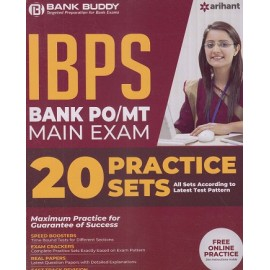Arihant Publication PVT LTD [BANK BUDDY IBPS PO /MT  MAIN EXAM  Complete Study Material with 20   Practice Sets (English), Paperback]