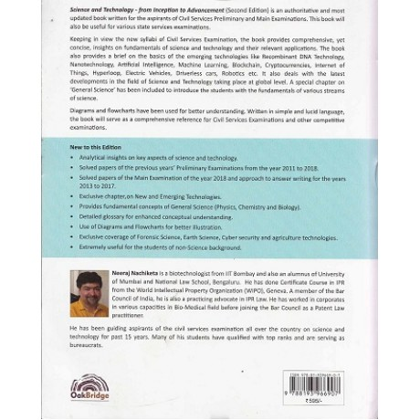 Oakbridge Publication [Science & Technology From inception to advancement (English) Paperback] by Neeraj Nachiketa