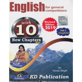 KD Publication [English for General Competitions Volume - I Revised 2019 10 New Chapters new ] by Neetu Singh