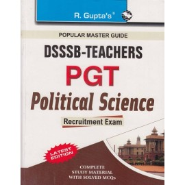 R GUPTA PUBLISHING HOUSE - POPULAR MASTER GUIDE ( DSSSB PGT POLITICAL SCIENCE  PREVIOUS PAPER 2015  Edition 2020 ) ( ENGLISH  ) BY RPH Editorial Board