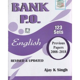 MB Book Publication [Bank PO English 2008-2018, 123 Sets] Author - Ajay K. Singh