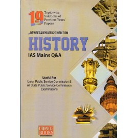 Chronicle Publication  (UPSC Mains History Question & Answer Solved , English (2006-2019) by N. N. Ojha