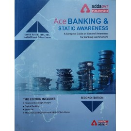 ADDA 247 PUBLICATIONS PVT LMT ( ACE BANKING & STATIC AWARENESS A COMPETE GUIDE ON GENERAL AWARENESS   FOR BANKING  EXAMINATIONS LIKE IBPS , SBI , RBI , LIC , UIIC , & OTHRS  SECOND EDITION 2021 ENGLISH )