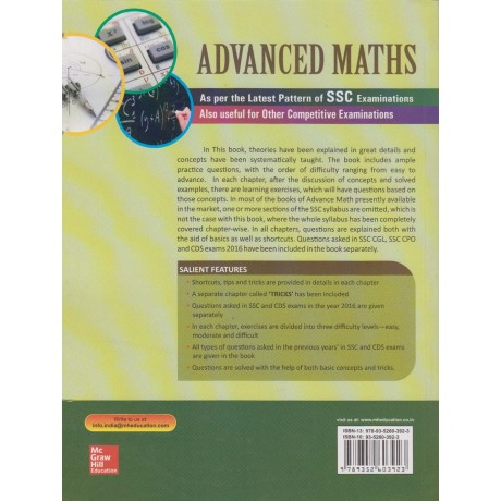 McGraw Hill Education [Advanced Maths As per the Latest