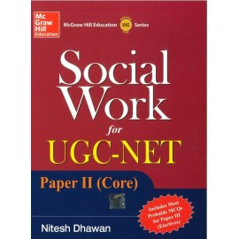 McGraw Hill Education - Social Work for UGC-NET Paper - II (Core) (English, Paperback) by Nitesh Dhawan