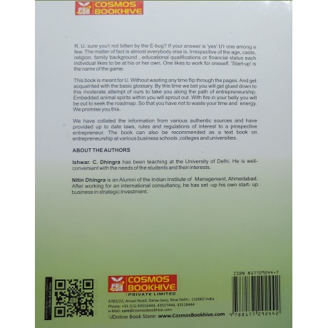 Cosmos Publication [Developing New Enterprise, English, Paperback] by I. C. Dhingra and Nitin Dhingra