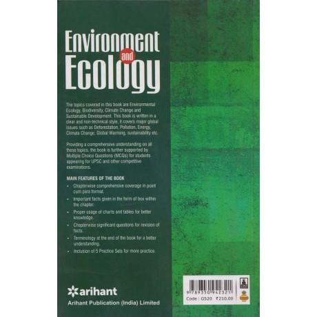 Arihant Publication PVT LTD [Environment and Ecology