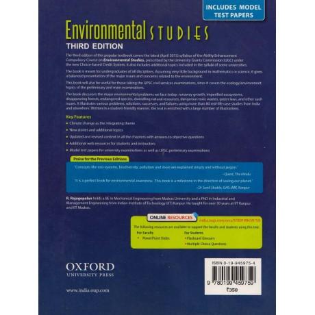 Oxford Publishing [Environmental Studies, Paperback] by R