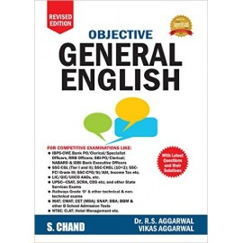 S. Chand Publication [Objective General English (Revised Edition) Paperback] by Dr. R. S. Aggarwal & Vikas Aggarwal