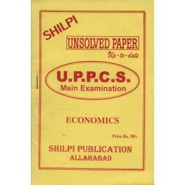 Shilpi Publication [Unsolved Paper up - to - date UPPCS Mains Examination (Economics), Paperback]