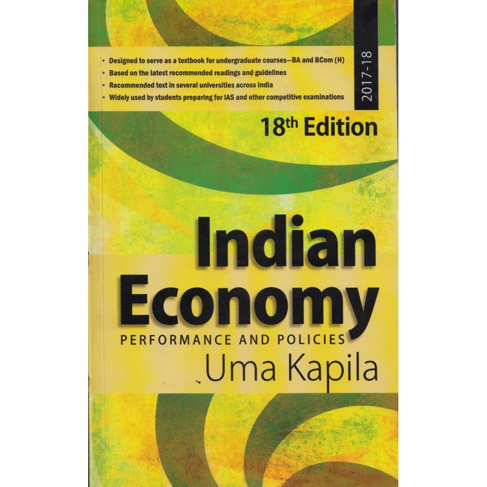 Academic Foundation [Indian Economy, Performance and Politics 18th Edition (English) Paperback] by Uma Kapila