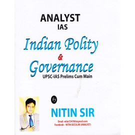 Analyst IAS [Indian Polity & Governance (English) Paperback] by Nitin Sir