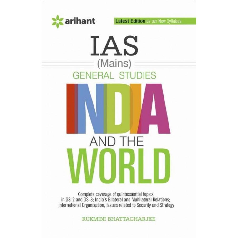 Arihant Publication [INDIA and the WORLD (English)] Author- Rukmini Bhattacharjee