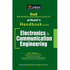 Arihant Publication PVT LTD [Crack GATE/IES/PSUs Handbooks Series Elcectronics & Communication Engineering (English), Paperback] by Er. Ankit Goel
