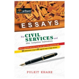 Arihant Publication PVT LTD [ESSAYS for Civil Services and Other Competitive Examinations  (English, Paperback)] by Pulkit Khare