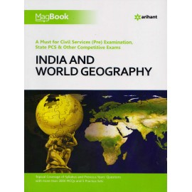 Arihant Publication PVT LTD [Magbook Indian & World Geography, (English) Paperback] by Prajwal Sharma