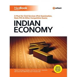 Arihant Publication PVT LTD [Magbook Indian Economy (English), Paperback] by Rakesh Kumar Roshan
