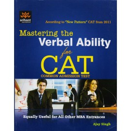 Arihant Publication PVT LTD [Mastering the Verbal Ability for CAT (English) Paperback] by Ajay Singh