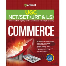 Arihant Publication PVT LTD [UGC NET/JRF/SLET (Commerce) Paper - II & III (English, Paperback)] by Dr. Vineet Kaushik