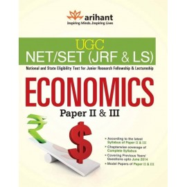 Arihant Publication PVT LTD [UGC NET/JRF/SLET Economics Paper - II & III Single Edition  (Paperback)] by Sunder Gopal Mishra, Athar Imam Raza, Shakeel ANwar, Satyabroto Roy & Preeti Sharma