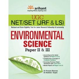 Arihant Publication PVT LTD [UGC NET/SET (JRF & LS) Junior Research Fellowship & Lectureship Environmental Science 2nd Edition  (English, Dr Rashmi Gupta, Dr Punam Sharma)