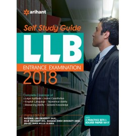 Arihant Publication - Self Study Guide For LLB Entrance Examination 2018 (English, Paperback) by Arihant Expert Team
