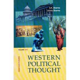 Atlantic Publication [Western Political Thought Vol. I From Plato to Burke (English), Paperback] by S. K. Sharma & Urmila Sharma