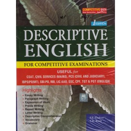 B. K. Publication [Descriptive English 1st Edition for Competitive Examinations, Paperback] by S. J. Thakur & S. K. Rout