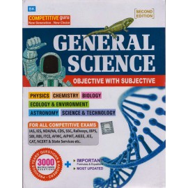B. K. Publication [General Science Objective with Subjective (English), Paperback] by B. K. Editorial Team