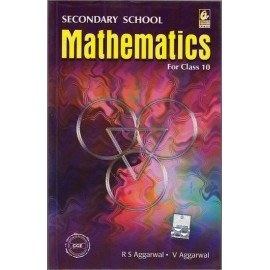 Bharati Bhawan Publication [Secondary School Mathematics for Class 10 (English), Paperback] by R. S. Aggarwal & Veena Aggarwal