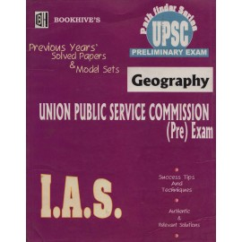 Bookhive's Publication [UPSC Preliminary Exam GEOGRAPHY (English), Paperback]