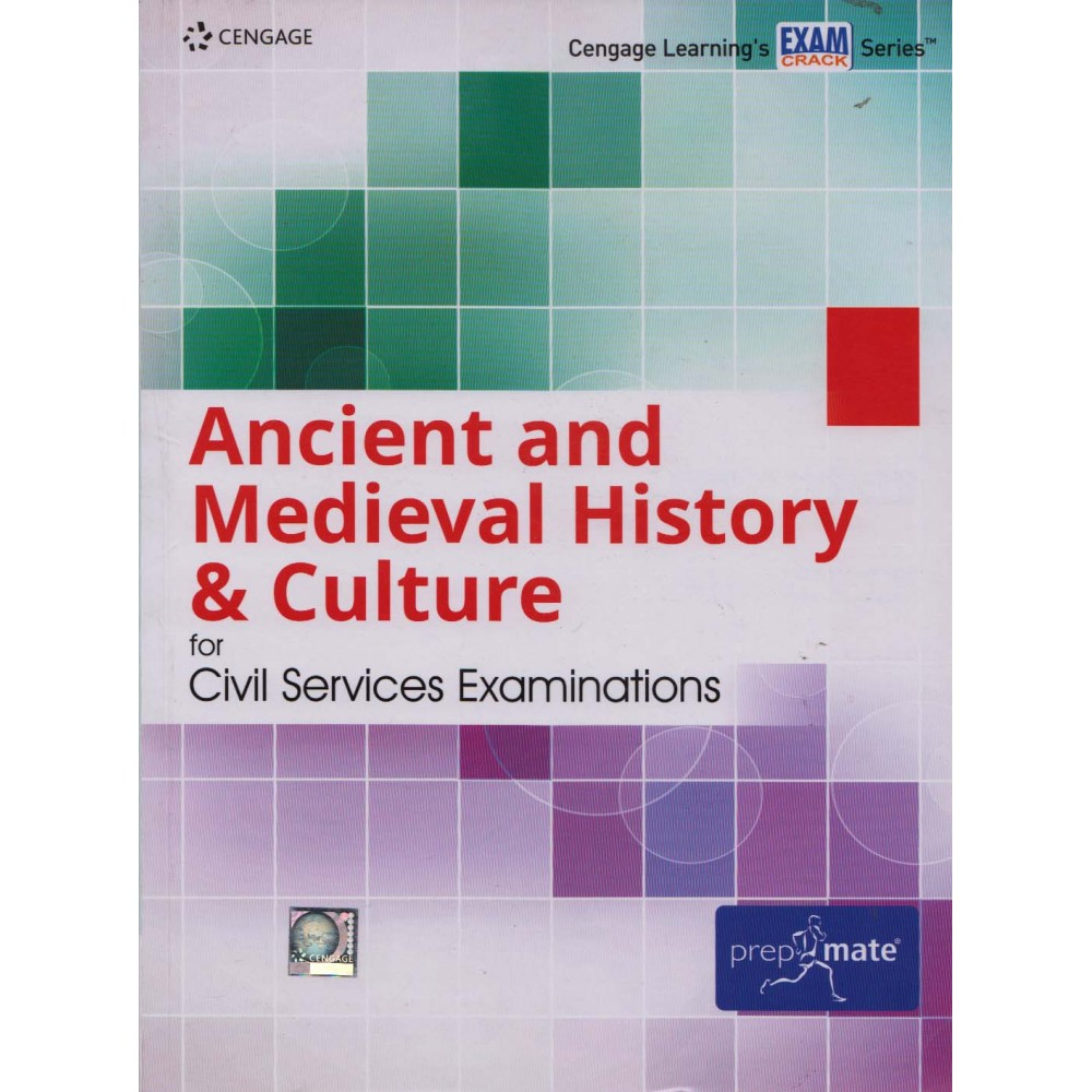 Cengage Learning's [Ancient and Medieval History & Culture for Civil Services Examinations (English), Paperback] by Cengage Team