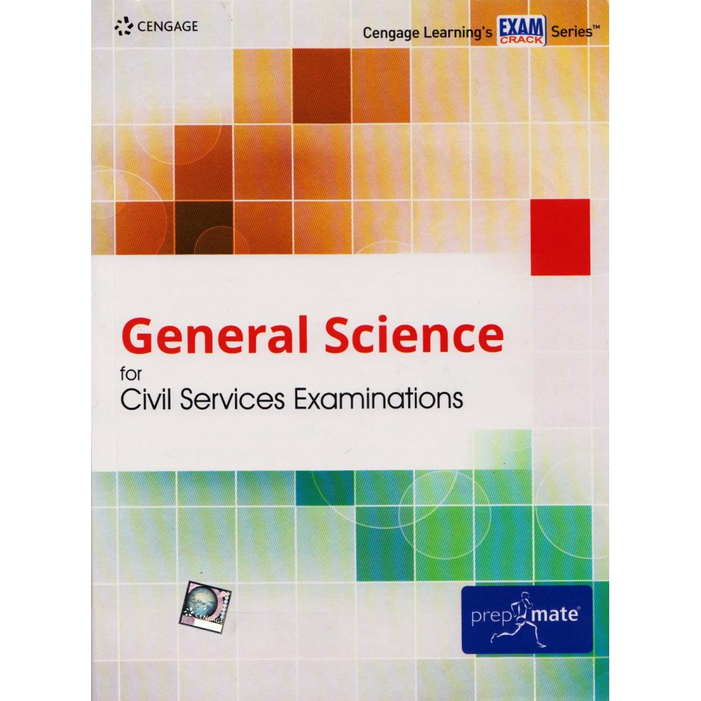 Cengage Learning's [General Science for Civil Services Examinations (English), Paperback] by Cengage Team