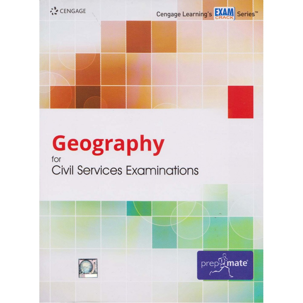 Cengage Learning's [Geography for Civil Services Examinations (English), Paperback] by Cengage Team