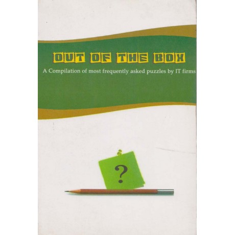 Cosmos Publication [Out of the Box A Compilation of most frequently asked puzzles by IT firms, English, Paperback] by Praveen Garg, Vinay Krishna and Anuj Shara