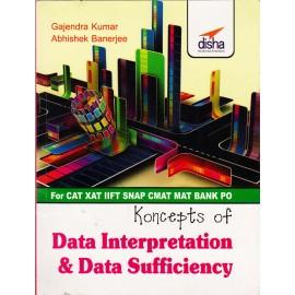 Daksh Publications [Concepts of Data Interpretation & Data Sufficiency (English), Paperback] by Gajendra Kumar & Abhishek Banerjee