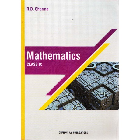 Dhanpat Rai Publication [Mathematics Class IX (English, Paperback) by R. D. Sharma