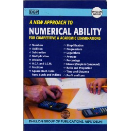 Dhillon Group of Publication [A New Approach to Numerical Ability (English), Paperback] by Navratan Singh & Manpreet Cheema
