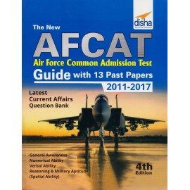 Disha Publication [AFCAT (Air Force Common Admission Test Guide with 13 Past Papers 2011-2017, 4th Edition (English), Paperback]