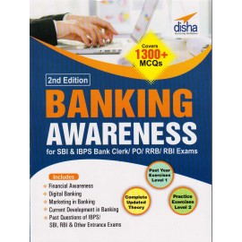 Disha Publication [Banking Awareness 2nd Edition Covers 1300+ MCQs (English), Paperback]