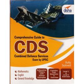 Disha Publication [Comprehensive Guide to CDS (Mathematics, English, General Knowledge) (English), Paperback] by Disha Team